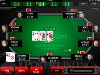PokerStars mobiel poker